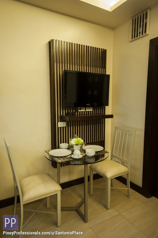 Apartment and Condo for Rent - Santoni's Place 1 Bedroom w/ shower,balcony,weekly housekeeping,parking,WiFi,Cable Ready For Rent