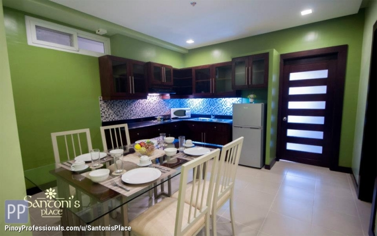 Apartment and Condo for Rent - With Walk-In Closet,Balcony,Bathtub,WiFi,Cable,Housekeeping,Parking 2Bedroom Unit
