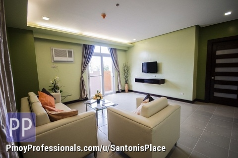 Apartment and Condo for Rent - 3BR Deluxe in Cebu City with free WiFi,Cable,Housekeeping,Parking