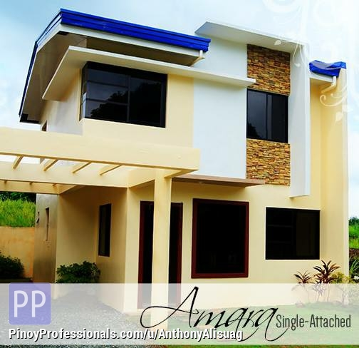 House for Sale - Php 19,334/Month 4BR Single Attached Amara Kelsey Hills in Bulacan