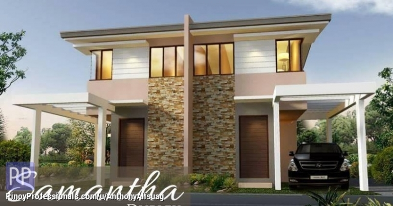 House for Sale - Php 15,686/Month 3BR Duplex House Samantha Kelsey Hills in Bulacan