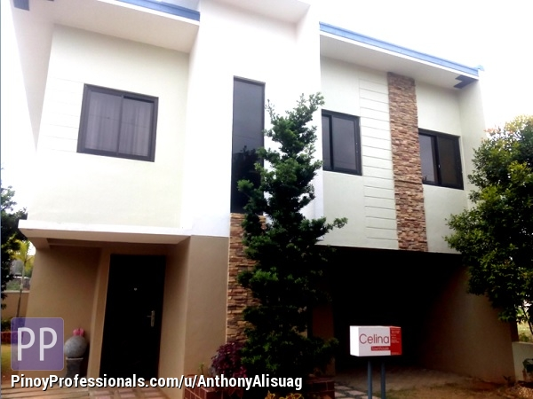 House for Sale - Php 12,633/Month 3BR Townhouse Celina Kelsey Hills in Bulacan