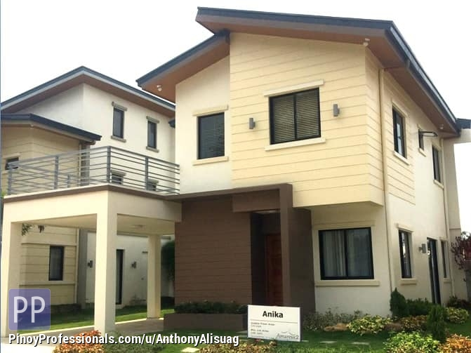 House for Sale - Php 31,377/Month 4BR Single Attached With Carport & Deck Anika Amaresa 2 in Bulacan