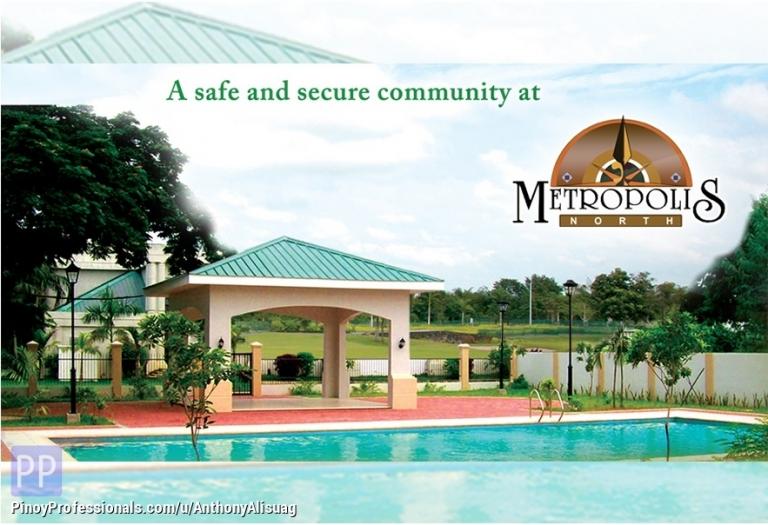 Land for Sale - Php 6,800/sqm. Vacant Lot 72sqm. Metropolis North Malolos Bulacan