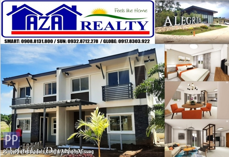 House for Sale - Php 18,524/month Adella 4BR Duplex Alegria Residences Marilao Bulacan