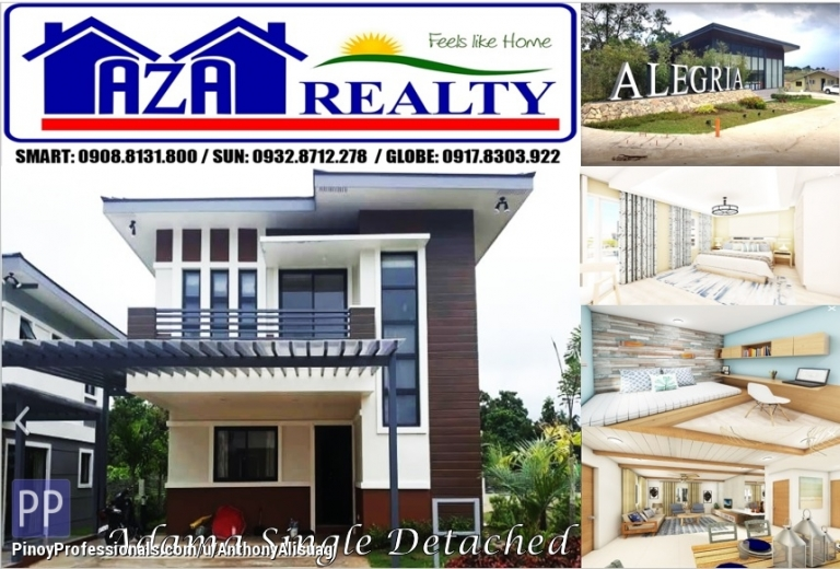 House for Sale - Php 29,402/month Adama 4BR Single Detached Alegria Residences Marilao Bulacan