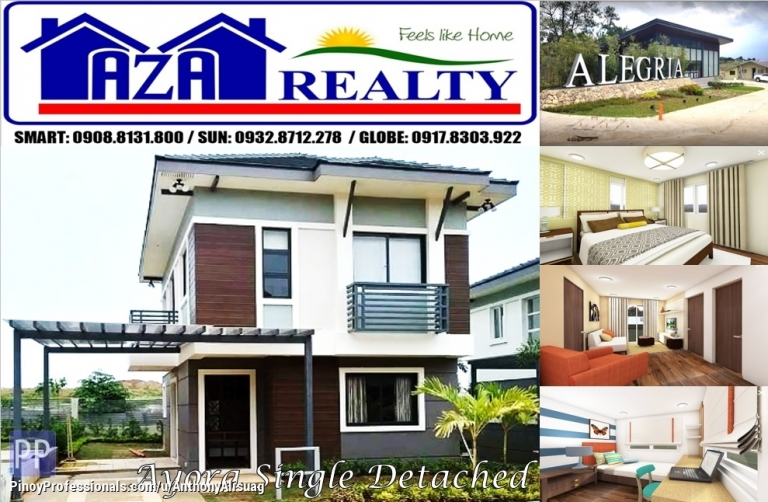 House for Sale - Php 25,825/month Ayora 3BR Single Detached Alegria Residences Marilao Bulacan