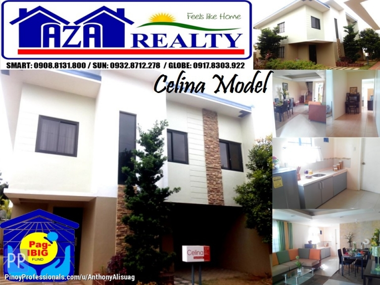 House for Sale - Php 10K Reservation Fee 3BR Townhouse Celina Kelsey Hills Bulacan