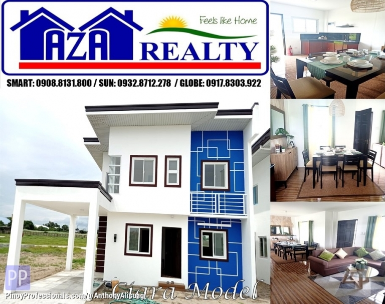 House for Sale - Php 20K Reservation Fee 3BR Single Attached Ciara Tiera Rica San Fernando Pampanga