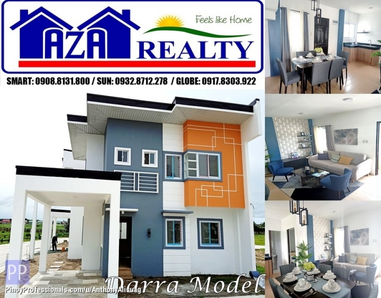 House for Sale - Php 20K Reservation Fee 4BR Single Attached Darra Tiera Rica San Fernando Pampanga