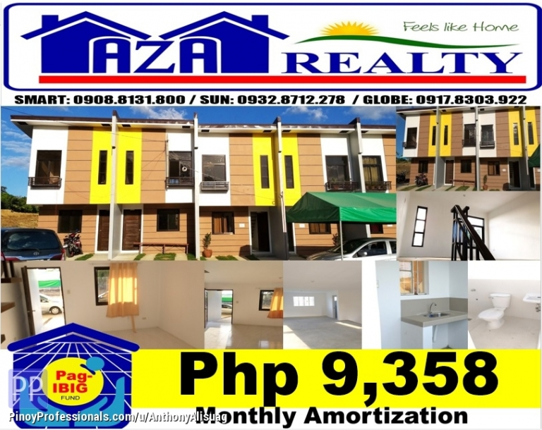 House for Sale - Php 10K Reservation Fee 3BR Townhouse Villa Belissa San Jose Del Monte Bulacan