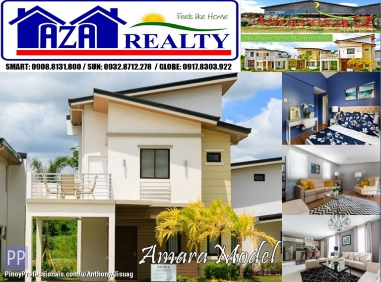 House for Sale - Php 30K Reservation Fee 3BR Single Attached Amara Expanded Amaresa 2 San Jose Del Monte Bulacan