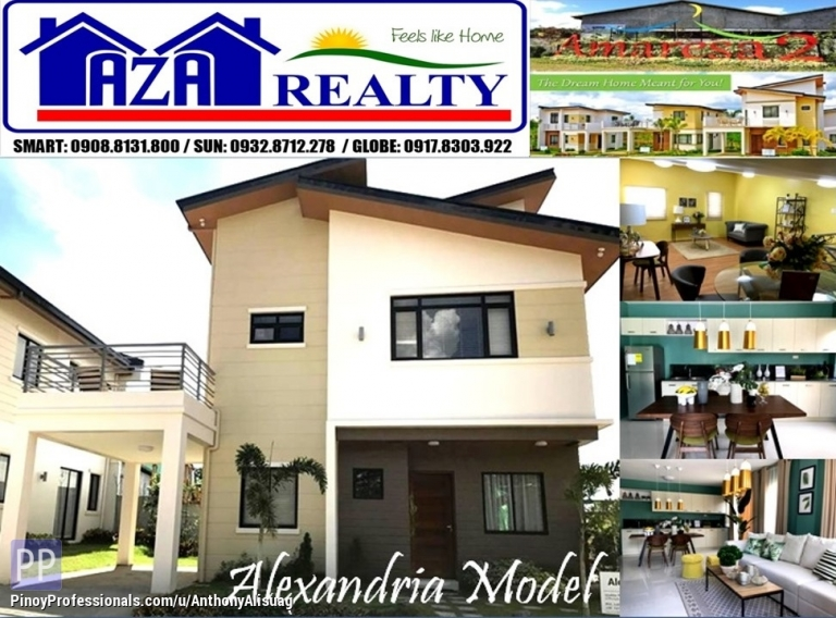 House for Sale - Php 35K Reservation Fee 5BR Single Attached Alexandria Amaresa 2 San Jose Del Monte Bulacan