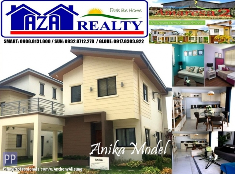 House for Sale - Php 30K Reservation Fee 4BR Single Attached Anika Amaresa 2 San Jose Del Monte Bulacan