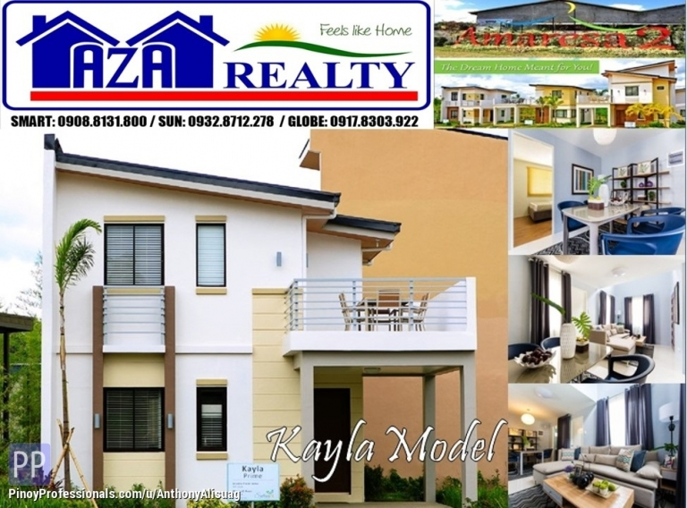 House for Sale - Php 20K Reservation Fee 3BR Single Attached Kayla Prime Amaresa 2 San Jose Del Monte Bulacan