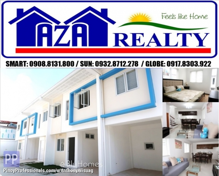 House for Sale - Php 20K Reservation Fee 3BR Townhouse Bluhomes Breeze Amparo Caloocan