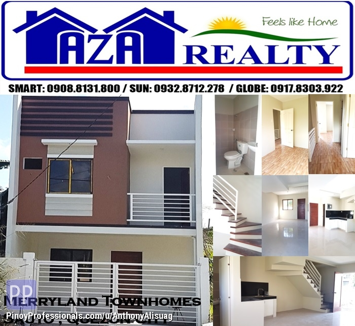 House for Sale - Ready For Occupancy 3BR Townhouse Merryland Townhomes Sauyo Quezon City
