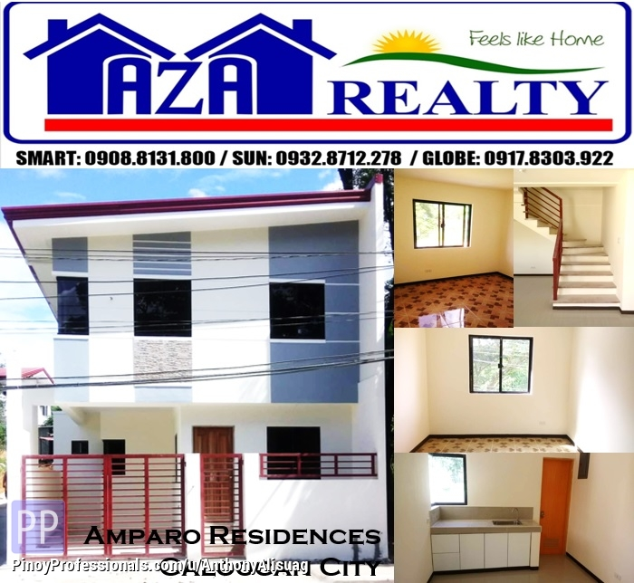 House for Sale - Ready For Occupancy 3BR Single Attached Amparo Residence Amparo Caloocan City