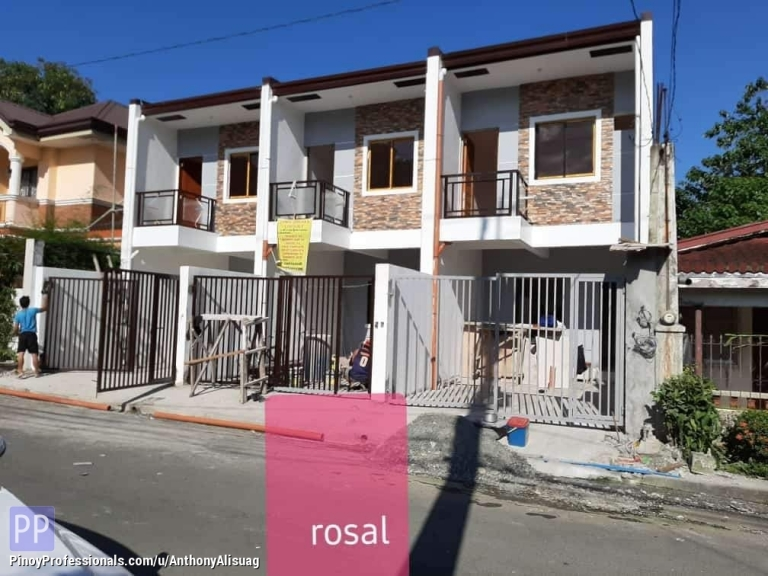 House for Sale - Ready For Occupancy 3BR Townhouse Rosal Residences West Fairview Quezon City