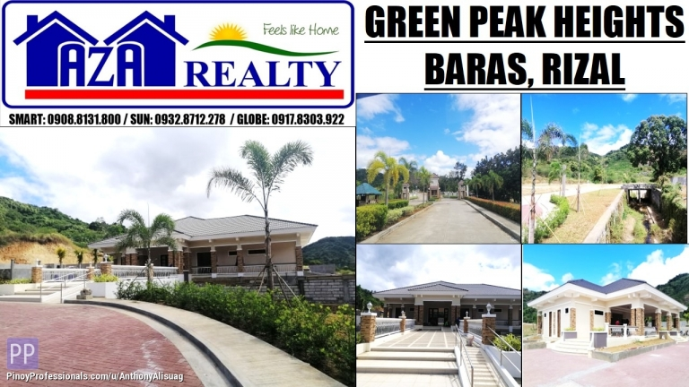 Land for Sale - Green Peak Heights Residential Estates Baras Rizal