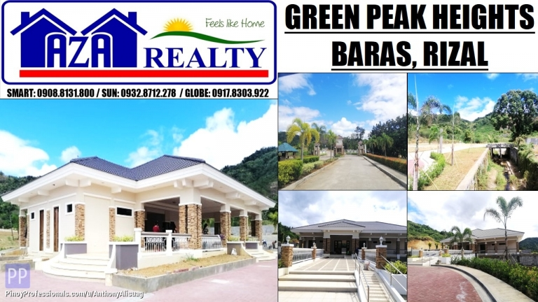 Land for Sale - Green Peak Heights Residential And Commercial Estates Baras Rizal