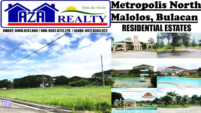 Land for Sale - Residential Lot 171sqm. Php 8,000/sqm. Metropolis North Malolos Bulacan