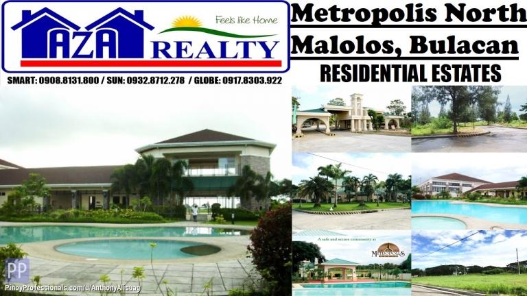 Land for Sale - Php 8,000/sqm. Residential Land 161sqm. Metropolis North Malolos Bulacan