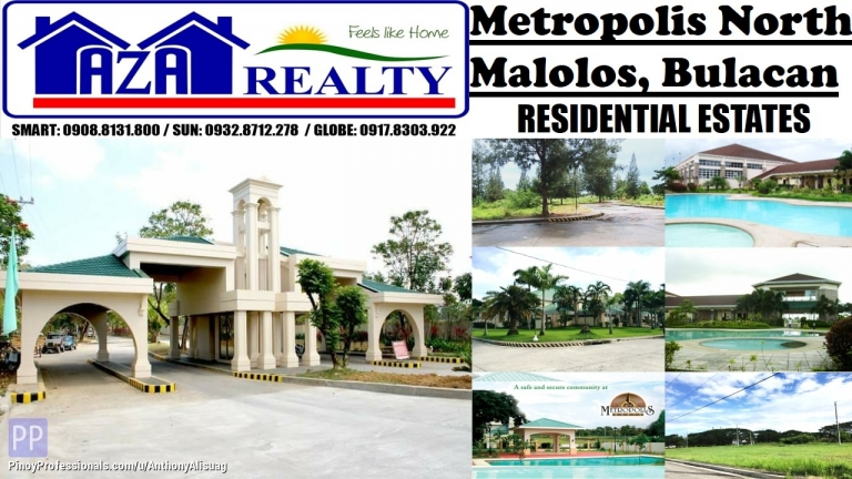 Land for Sale - Metropolis North Lot For Sale 151sqm. Malolos Bulacan