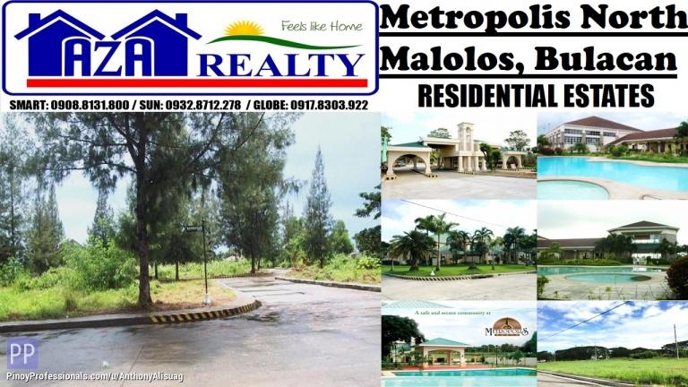 Land for Sale - Php 8,000/sqm. Vacant Lot 132sqm. Metropolis North Malolos Bulacan