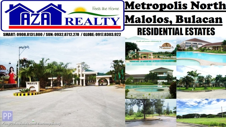 Land for Sale - Metropolis North Real Estate Land For Sale 126sqm. Metropolis North Malolos Bulacan