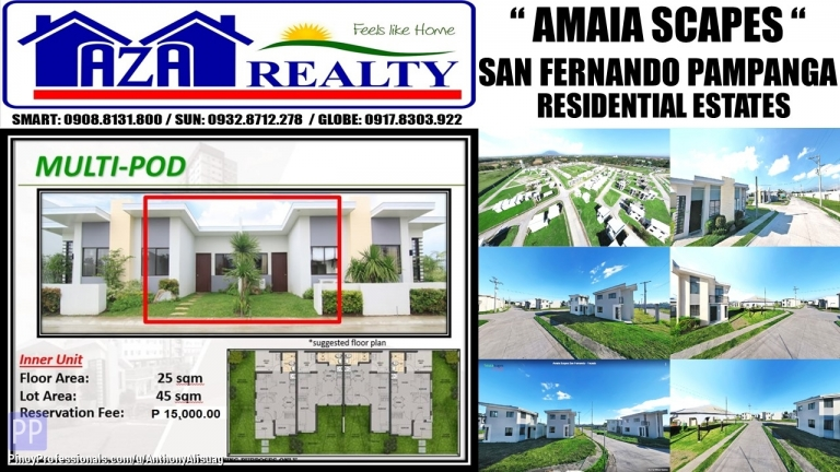 House for Sale - Php 15K Reservation Multi Pod Inner Amaia Scapes San Fernando Pampanga