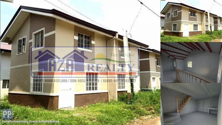 House for Sale - Php 10,774/Month 3BR Duplex Inner Unit Casa Segovia Baliuag Bulacan