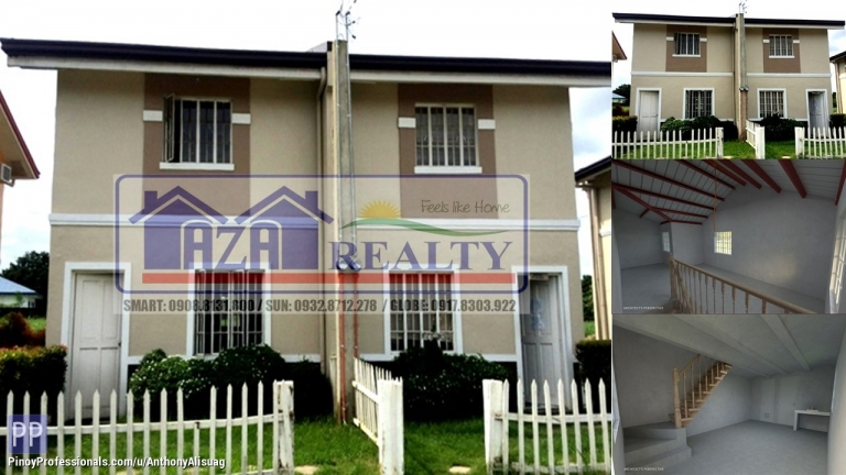House for Sale - Php 10,240/Month 2BR Duplex Corner Unit Casa Segovia Baliaug Bulacan