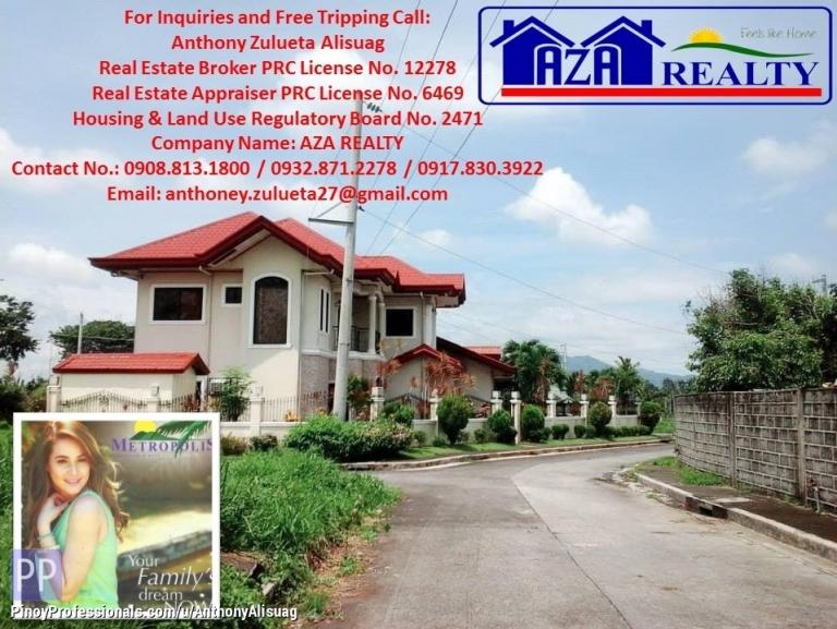 Land for Sale - Metropolis South Residential Lot For Sale 159sqm at 9K/sqm. San Pablo Laguna City