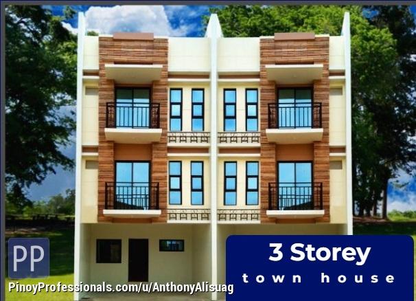 House for Sale - 4BR House 3 Storey Townhouse 119sqm. Dulalia Homes Valenzuela Metro Manila
