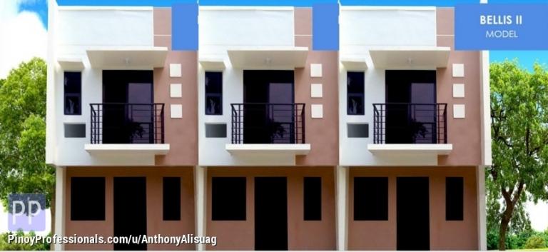 House for Sale - 2BR Twos Storey Townhouse 119sqm. Bellis Dulalia Executive Village Valenzuela Valenzuela, Metro Manila