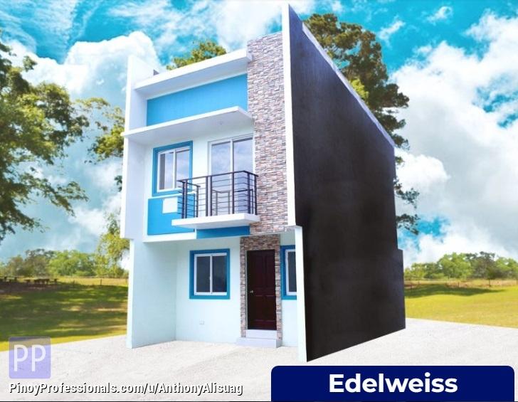 House for Sale - 3BR Townhouse Edelweiss 64sqm. Dulalia Executive Village Valenzuela Valenzuela, Metro Manila