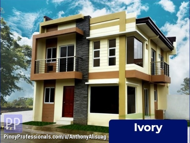 House for Sale - 3BR Single Attached 123sqm. Ivory House and Lot For Sale Dulalia Executive Village Meycauayan, Meycauayan Bulacan