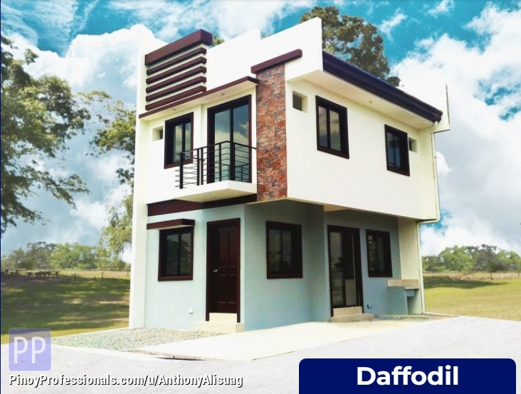House for Sale - 3BR Single Attached 100sqm. Daffodil House and Lot For Sale Dulalia Executive Village Meycauayan Meycauayan Bulacan