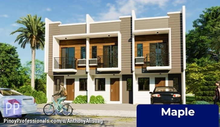 House for Sale - 68sqm. 3BR Townhouse Maple Monica Homes Valenzuela Metro Manila