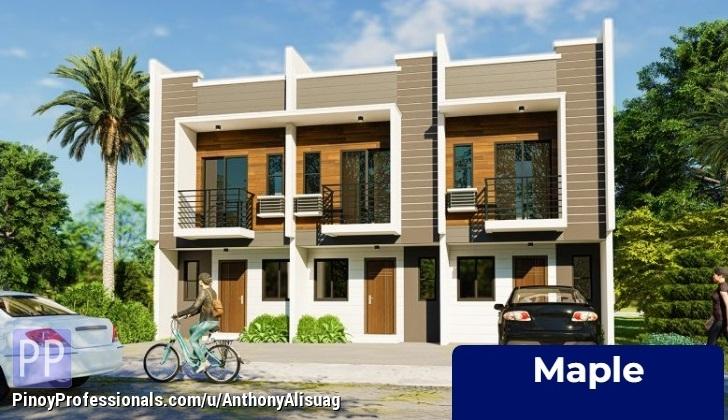 House for Sale - Blk 3B 3BR Townhouse 68sqm. Maple House & Lot Monica Homes Valenzuela Metro Manila