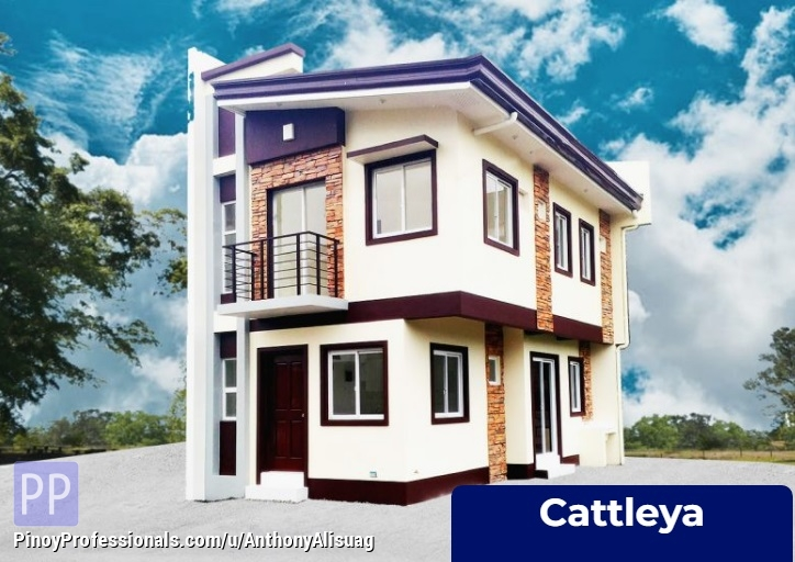 House for Sale - 4BR Single Attached 122sqm. Cattleya Monica Homes Valenzuela Metro Manila