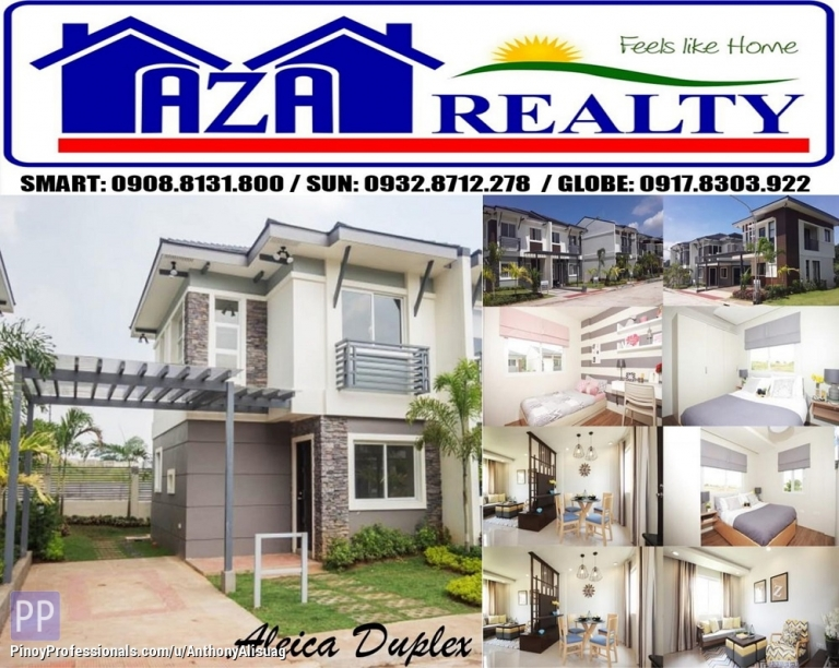 House for Sale - Php 12,560/Month 2BR Duplex House Aleica Alegria Residences in Bulacan