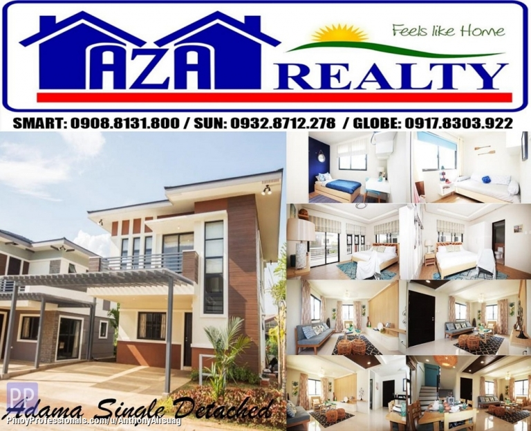 House for Sale - Php 26,430/Month 4BR Single Detached With 2 Car Garage Adama Alegria Residences in Bulacan