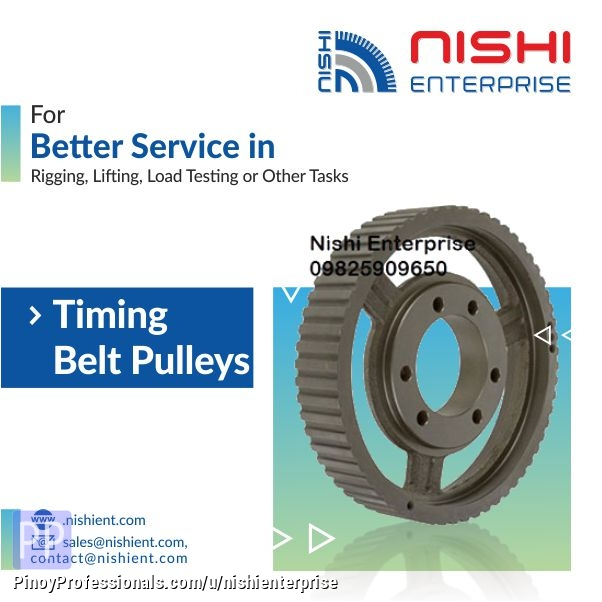 Business and Industrial - Timing Belt and Pulley Manufacturer and Supplier in Philippines
