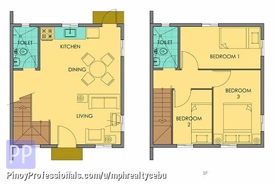 House for Sale - PRE-SELLING CARA HOUSE CAMELLA RIVERFRONT TALAMBAN CEBU CITY