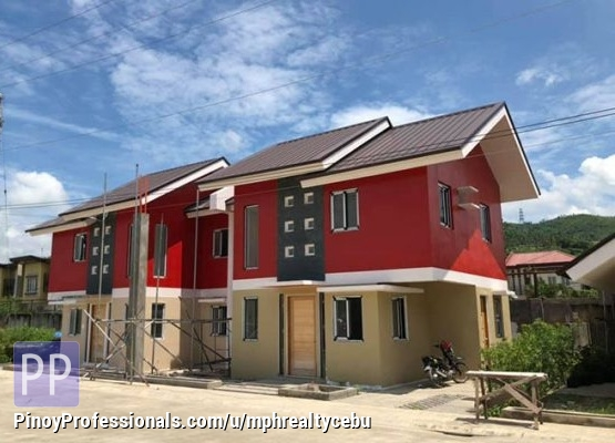 House for Sale - house for foreigners City Homes Tunghaan Minglanilla Cebu