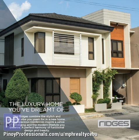 House for Sale - HOUSE IN BANAWA CEBU CITY @RIDGES ARCENAS ESTATE
