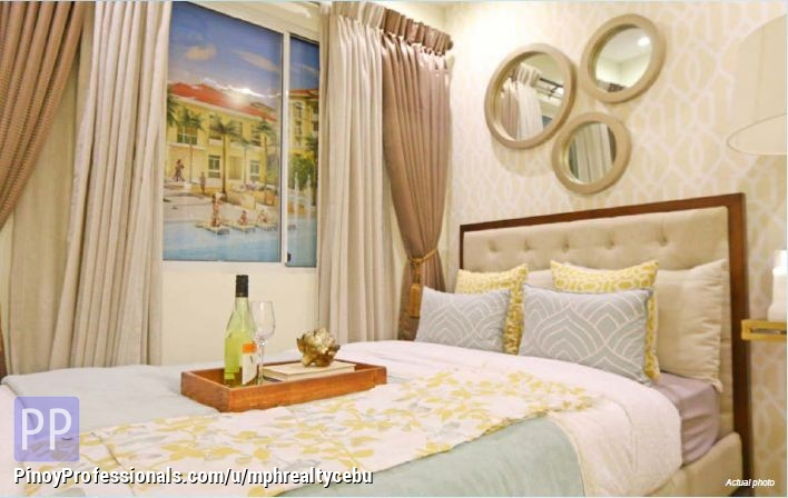 Apartment and Condo for Sale - RFO 2BR SANREMO CONDOMINIUM CITY DE MARE SRP CEBU CITY