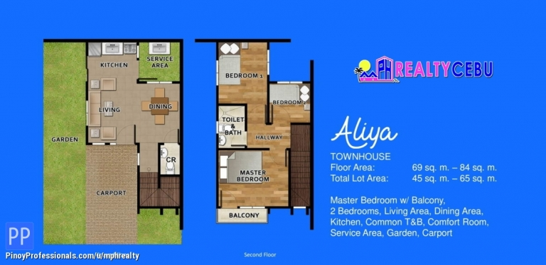 House for Sale - BREEZA PALMS - 2BR TOWNHOUSE FOR SALE IN MACTAN CEBU